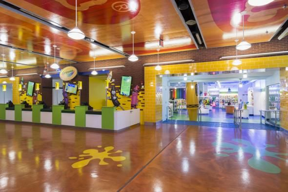 Chain Store Age | Crayola Store, Easton, Pa.