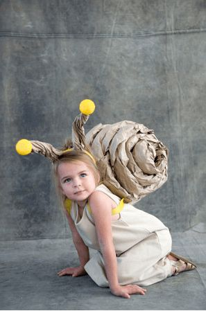 Maschere carnevale fai da te low cost animaletti lumaca