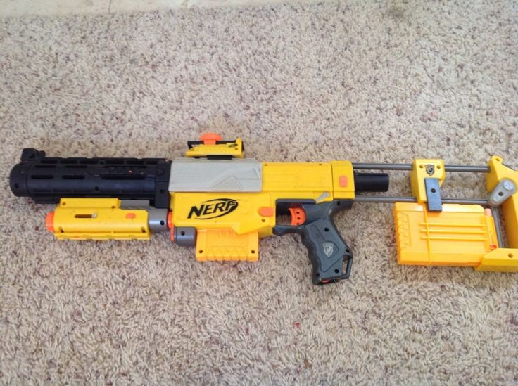 Nerf Recon CS-6 Gun Soft Dart Bullets N-Strike #NERF