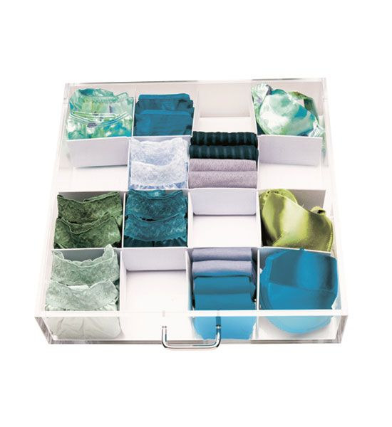 Digital Art Gallery With this Drawer Nooks Organizer you can customize and organize your bedroom or bathroom drawers