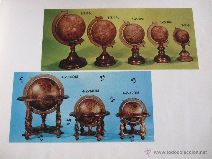 Juguetes antiguos: ANTIGUO CATALOGO DE GLOBOS TERRAQUEOS, Y OTROS OBJETOS(AJEDREZ PORTALAPICES ETC) - ITALIANO 38 PAGIN - Foto 2 - 53278247