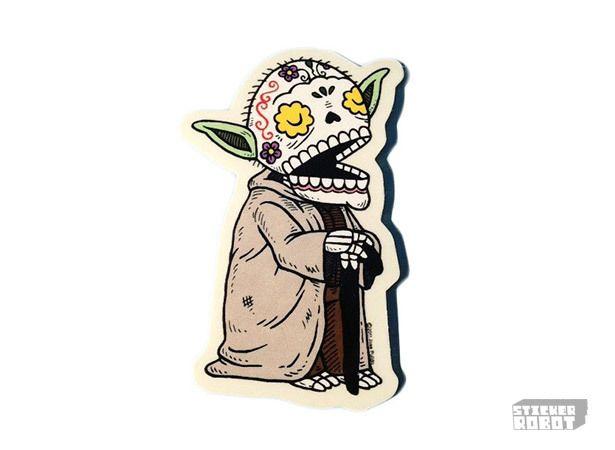 yoda sticker by jose pulido
