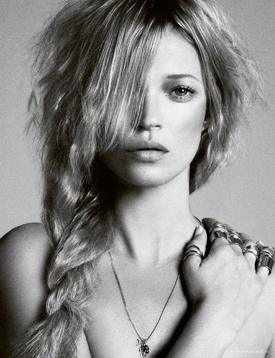Kate Moss by Daniele Duella and Iango Henzi for i-D #323, Pre-Spring 2013