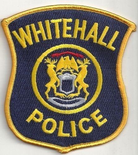 Whitehall Police Michigan Patch