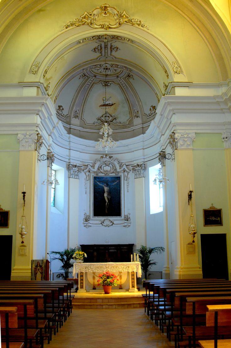 Chiesa di S Vito martire interno #marcafermana #montevidoncorrado #fermo #marche