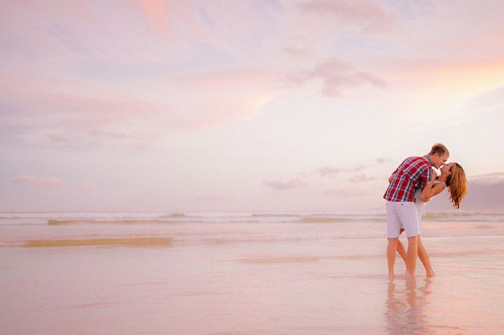 engagment session kalk bay. pink and purple sunset