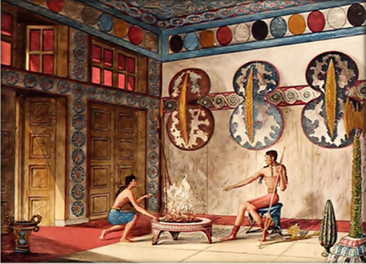 Interior, Palace of Knossos