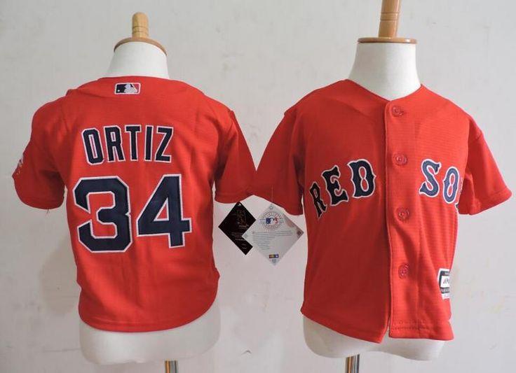 Infant MLB Boston Red Sox #34 David Ortiz Jersey