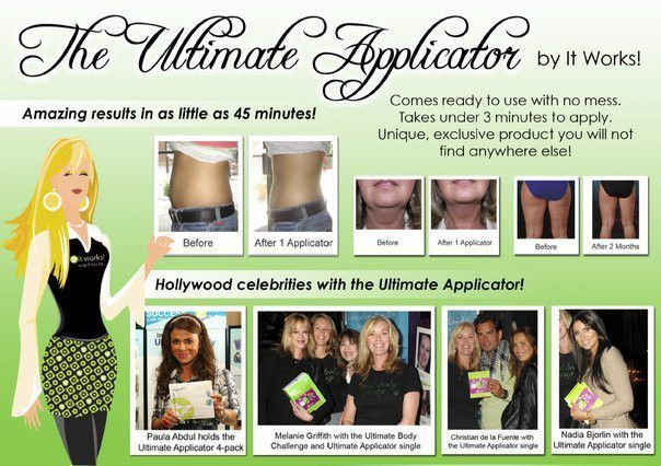 It Works! Celebrities LOVE our products!! Celebritythinwraps.com