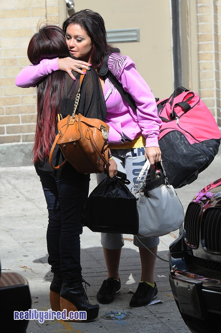 Snooki and JWOWW wrap filming in Jersey City, say goodbye :(