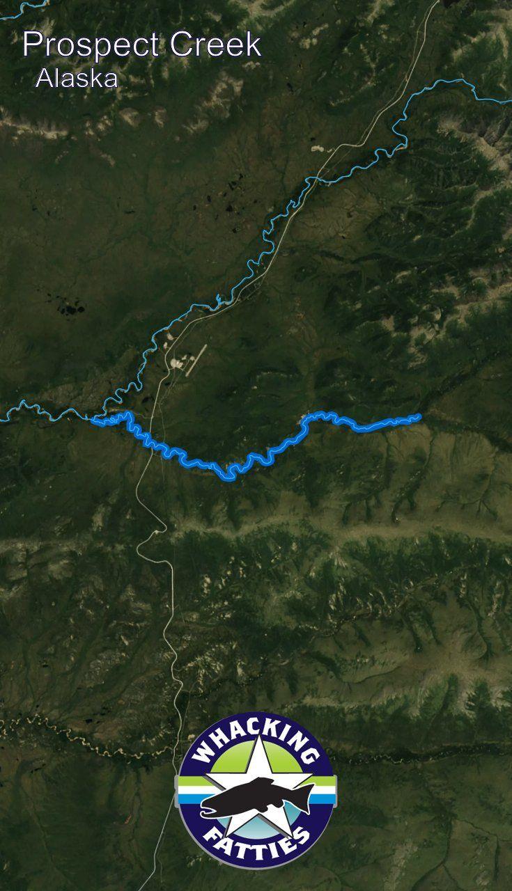 Alaska Major Cities Map%0A Fishing Report Prospect Creek