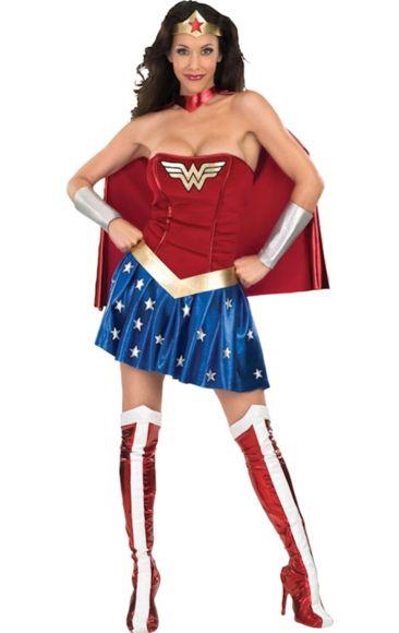 Sexy Wonder Woman Super Hero Costume