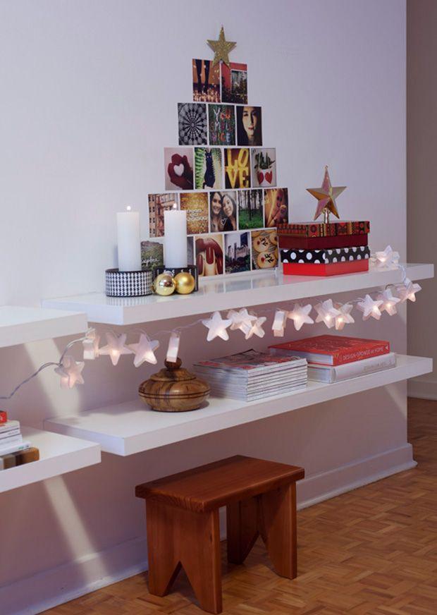 DIY Instagram photos Christmas Tree #decor #DIY #christmas #xmas #Natal