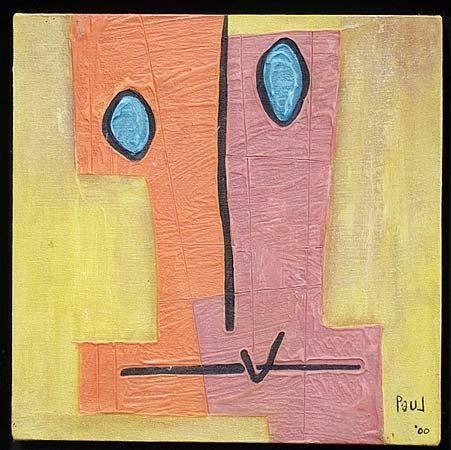 Bemused Portrait - Paul du Toit .-( Johannesburg, South Africa,1965)