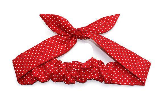 Wrap de Rosie bandeau Bandana cheveux cravate par BlackCatStitches