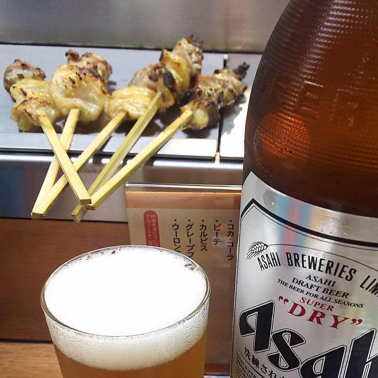 いいね!73件、コメント1件 ― rosa49さん(@rosa.49)のInstagramアカウント: 「今日の #立ち寄り #秋口 #瓶ビール飲みのアイデア … #やきとりの名門 #秋吉 #純けい #定番 のルーティンBでした #瓶ビール党 #大瓶派 #asashibeer…」