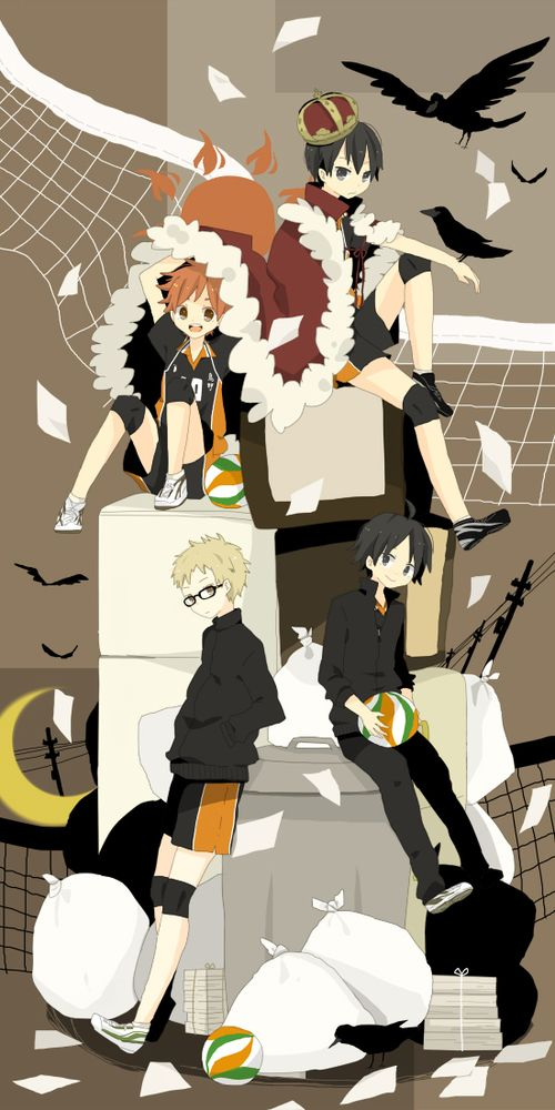 Starting to watch Haikyuu, and love it so far.. I expect a lot from it cause i love volleyball <3  #haikyuu #anime