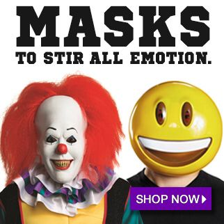 The best #halloween #masks and lowest prices. Browse a HUGE #HalloweenMask selection at: