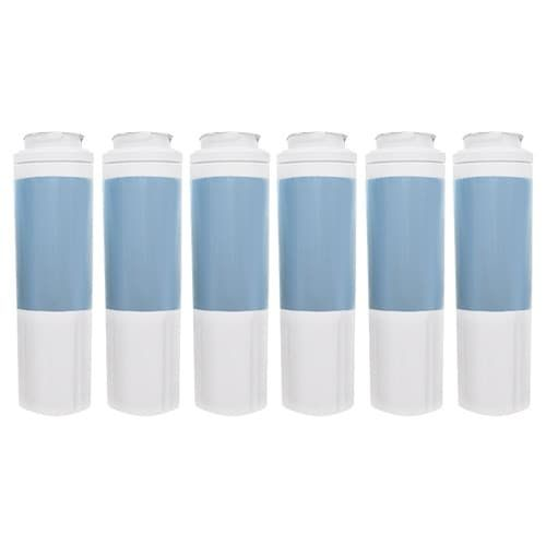 Replacement Water Filter Cartridge for KitchenAid Filter Models PUR EDR4RXD3 - (6 Pack)