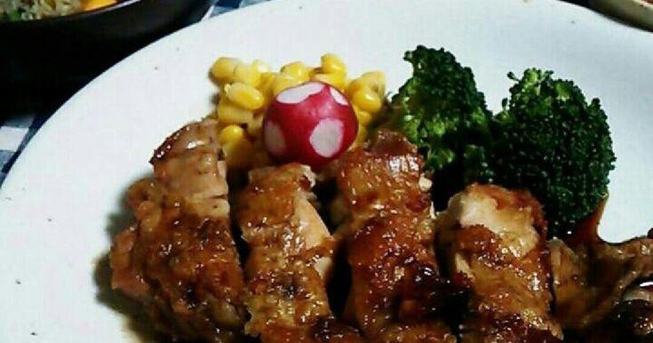 ニンニク醤油ソース★鶏モモステーキ by どらごん♪ [クックパッド] 簡単おいしいみんなのレシピが260万品