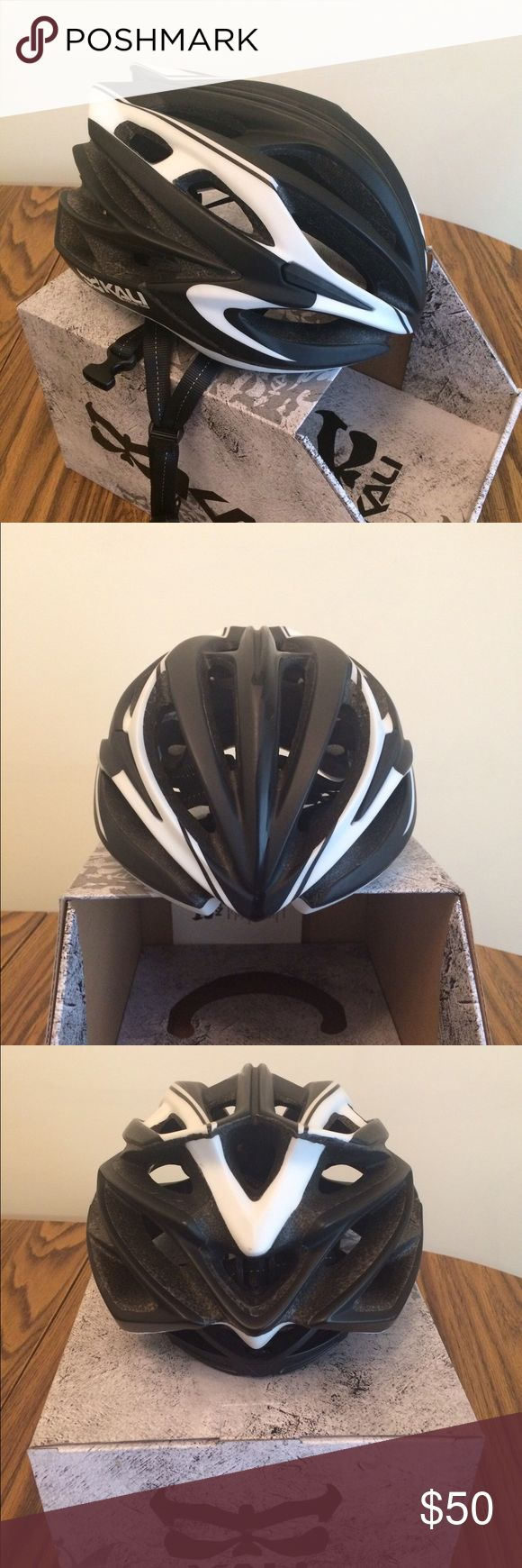 Kali Helmet Road/mtn bike Loka Helmet Tracer Mat Black- Like new. Only worn a few times! Slightly big for me. Not pearl Izumi, it's a Kali helmet just listed under pearl izumi to get it out there. Pearl Izumi Other