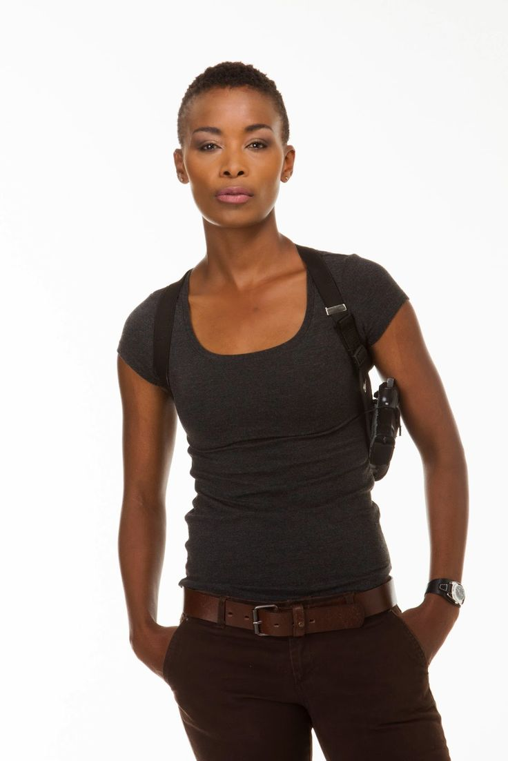 Possibly the coolest looking lady I have ever seen, South African actress Bonnie Mbuli