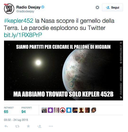 Radio Deejay Kepler