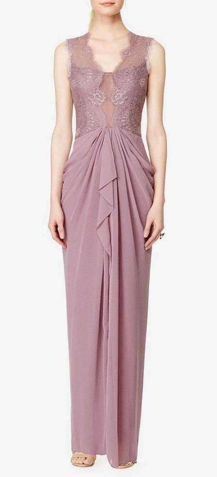 Lavender Brandy Gown
