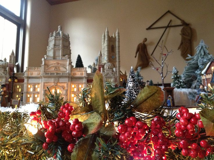 Brother Tim's remarkable collection of nativity scenes from around the world feature figures from Asia, Africa, Europe, and the Americas.