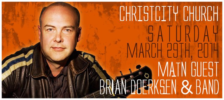 105.9 Shine FM | Contests | Win Tickets to See Brian Doerksen