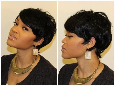Awe Inspiring 64 Best Images About 27 Piece Quick Weave On Pinterest Short Short Hairstyles For Black Women Fulllsitofus