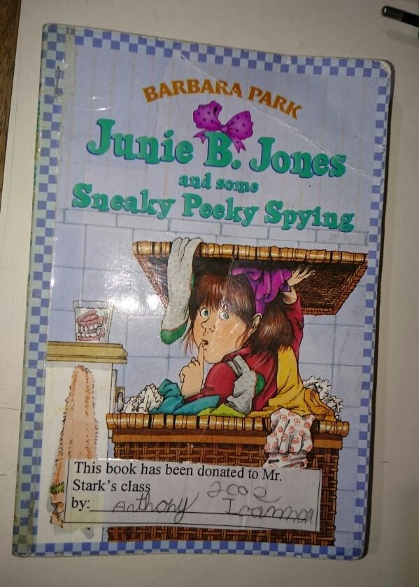 Junie B. Jones and Some Sneaky Peeky Spying by Barbara Park -- Fairly Good