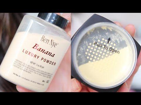 Review Comparison | ELF HD Powder VS. Ben Nye Banana Luxury Powder - YouTube
