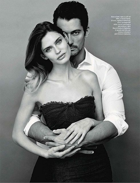 {fashion editorial : bianca balti  david gandy by giovanni castel for amica} by {this is glamorous}, via Flickr