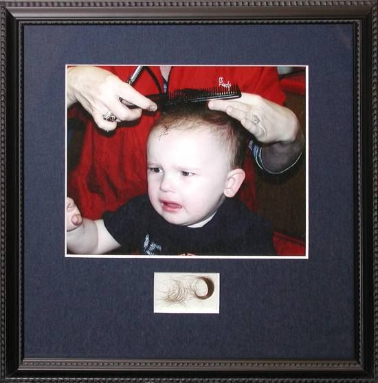 baby s haircut keepsake 9 best diy lock of hair babies cut images on 1019