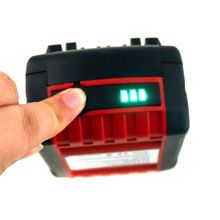 1 PC 18V 4000mAh Rechargeable Battery Pack Power Tools Batteries Replacement Cordless for Bosch Drill BAT618 Li-ion VHK18 T0.4