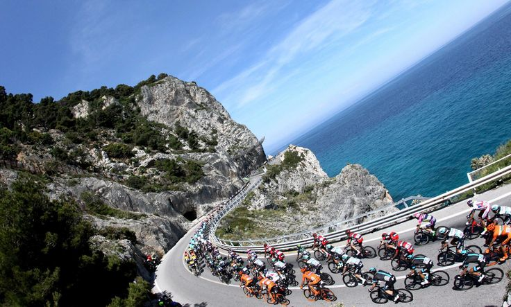 The countdown for the 100th edition of the Giro d' Italia has already begun. The 100th Girois back to Sardinia after ten years since last time in 2007, with three very interesting stages. http://www.en.luxuryholidaysinsardinia.com/Blog/dettaglio/100th-giro-ditalia-ogliastra-turns-pink #sardinia #holiday #beach #blog #sea #travel #Italy #ogliastra
