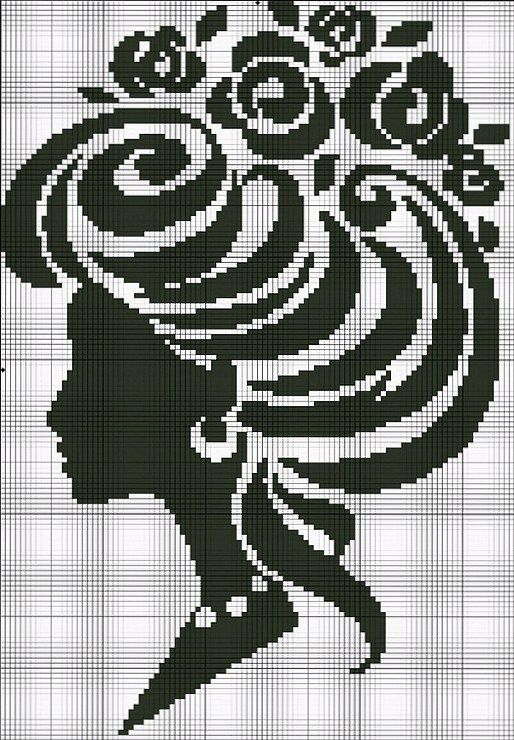 Marie Antoinette cameo cross stitch point de croix (the hair could always be changed.)