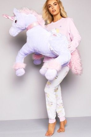 Purple Jumbo Unicorn Toy