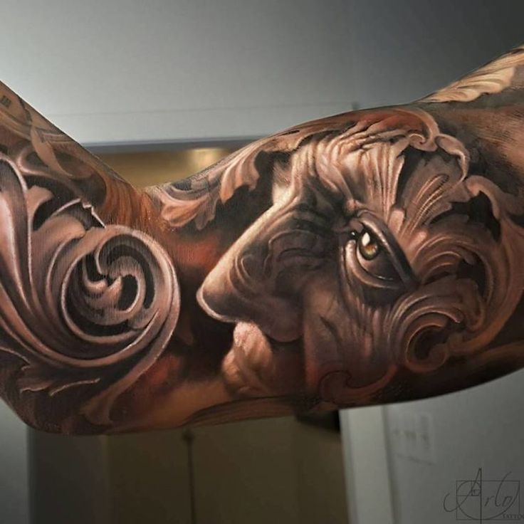 This Artists Hyper Realistic Tattoos Have a Surreal 3D Depth to Them | BlazePress