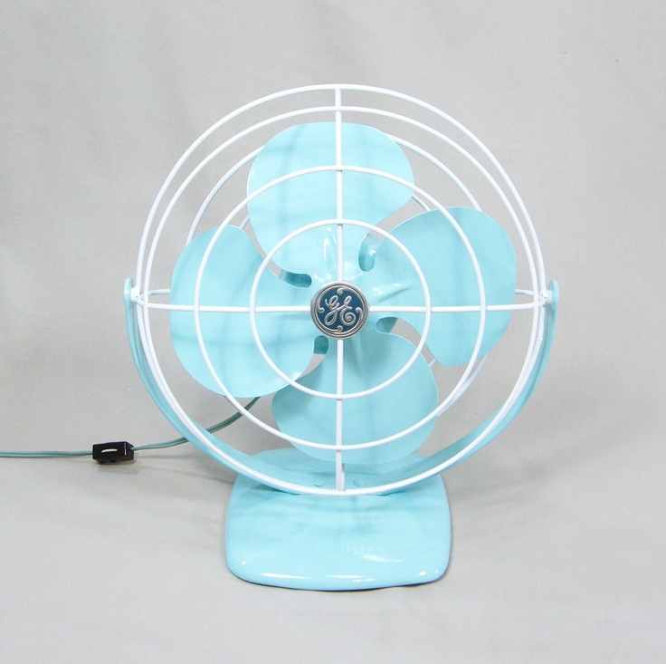 I've Got the Mid-Century Blues by #epsteam #etsy #vintage #blue #turquoise: Electric Fans, Vintage Blue, Midcentury Vintage, Aqua Blue, Fans I, Vintage Electric, Fans Aqua, Blue Fans, Etsy Vintage