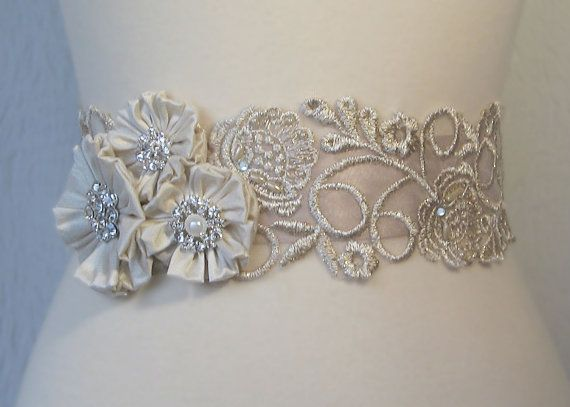 Wedding Dress Belts... Oo La La! - 2 Hearts Weddings