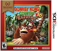 Nintendo Selects: Donkey Kong Country Returns 3D - 3DS