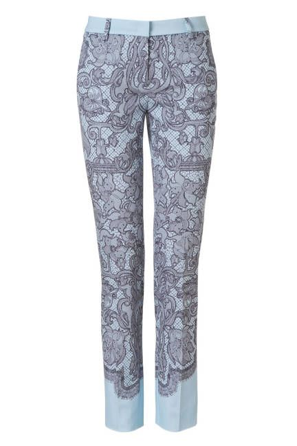 Lace-print jeans feel like a major style step up from regular denim