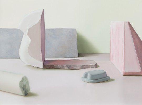 Maude Maris, Liaison, 54x73 cm, huile sur toile, 2013 ©
