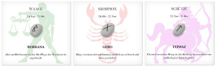 Runen Tageshoroskop 9.3.2017 #Sternzeichen #Runen #Horoskope #waage #skorpion #schütze