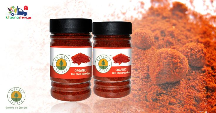 #Organic #Red #Chilly #Powder 100GM @ Rs.50 on Kiraanastore. Shop Now !