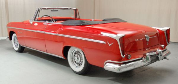 The classic car that I have chosen to report on is called the 1955 Chrysler Windsor. This car is old and shiny. The front of the car it has a forward look, and the back of the car has tail fins. …