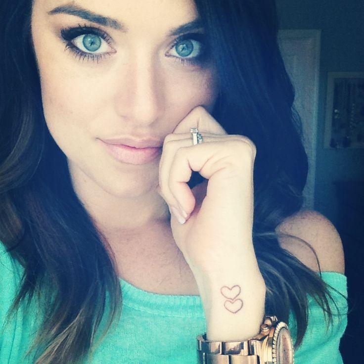 Heart Tattoos On Side Of Wrist Cool Eyecatching tatoos