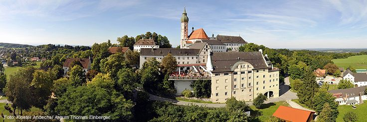 """If you want to take a """"beer pilgrimage,"""" head to Andechs Benedictine Monastery. Set on a hill above Ammersee (Ammer Lake) south of Munich, it boasts commanding views of the Alps and is a great place to spend the day and hike."""